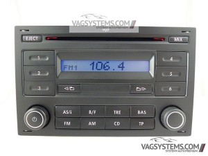 Radio RCD200 MP3 VW Bora Lupo Passat Polo Fox T5 Golf